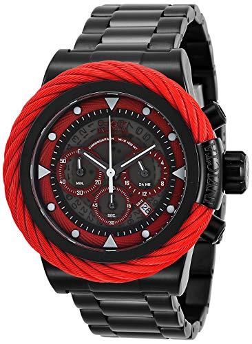 インヴィクタ インビクタ ボルト 腕時計 メンズ Invicta Men's Bolt Quartz Watch with Stainless Steel Strap, Black, 24 (Model: 27810)インヴィクタ インビクタ ボルト 腕時計 メンズ