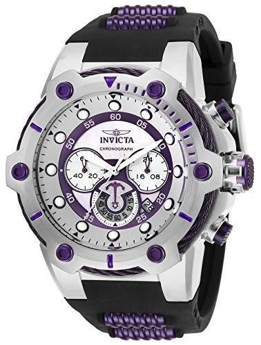 インヴィクタ インビクタ ボルト 腕時計 メンズ 【送料無料】Invicta Men's Bolt Quartz Watch with Silicone Stainless Steel Strap, Black, 30 (Model: 28038)インヴィクタ インビクタ ボルト 腕時計 メンズ