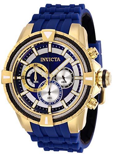 インヴィクタ インビクタ ボルト 腕時計 メンズ Invicta Men's Bolt Stainless Steel Quartz Watch with Silicone Strap, Blue, 28 (Model: 29078)インヴィクタ インビクタ ボルト 腕時計 メンズ