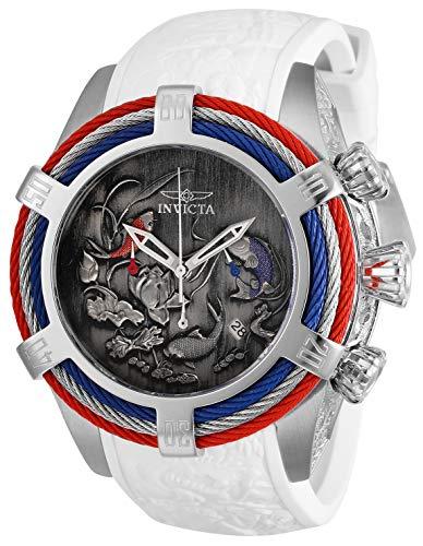 インヴィクタ インビクタ ボルト 腕時計 メンズ Invicta Men's Bolt Stainless Steel Quartz Watch with Silicone Strap, White, 26 (Model: 28209)インヴィクタ インビクタ ボルト 腕時計 メンズ