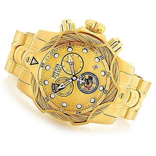 腕時計 インヴィクタ インビクタ リザーブ メンズ 【送料無料】Invicta Men's Reserve Quartz Diving Watch with Stainless Steel Strap, Gold, 26 (Model: 27702)腕時計 インヴィクタ インビクタ リザーブ メンズ