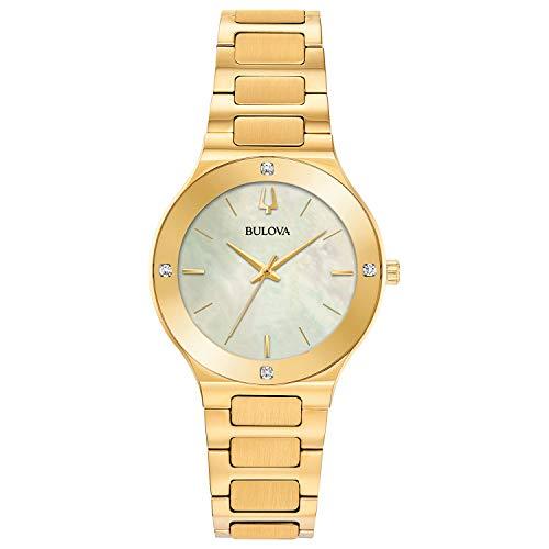 ブローバ 腕時計 レディース 【送料無料】Ladies' Bulova Futuro Millennia Gold-Tone Diamond Accent Watch 97R102ブローバ 腕時計 レディース