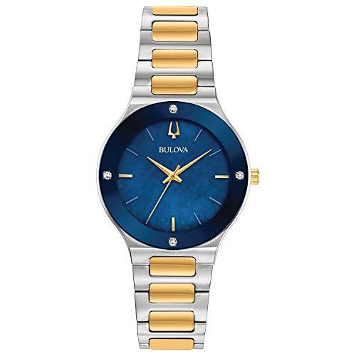 ブローバ 腕時計 レディース 【送料無料】Bulova 98R273 Millenia Women's Watch Silver/Gold 32mm Stainless Steelブローバ 腕時計 レディース