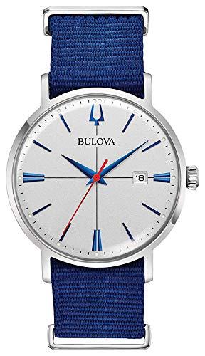 ブローバ 腕時計 メンズ 【送料無料】Bulova 96B313 Aerojet Men's Watch Blue 39mm Stainless Steelブローバ 腕時計 メンズ