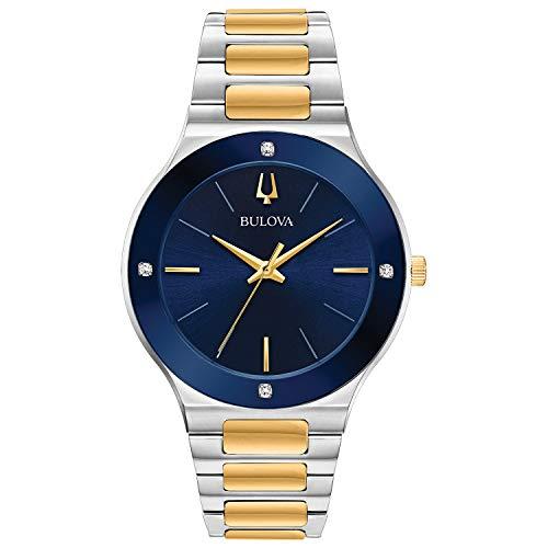 ブローバ 腕時計 メンズ 【送料無料】Bulova 98E117 Futuro Men's Watch Two-Tone Silver/Gold 43mm Stainless Steelブローバ 腕時計 メンズ