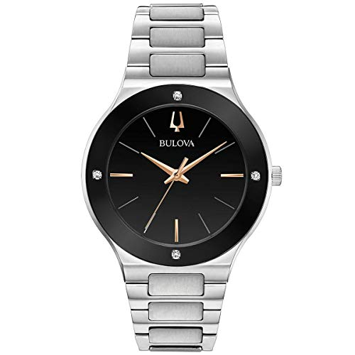 ブローバ 腕時計 メンズ Bulova Men's Modern - 96E117 Steel One Sizeブローバ 腕時計 メンズ