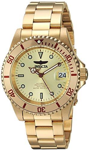 インヴィクタ インビクタ プロダイバー 腕時計 メンズ 【送料無料】Invicta Men's Connection Automatic-self-Wind Watch with Stainless-Steel Strap, Gold, 0.75 (Model: 24762)インヴィクタ インビクタ プロダイバー 腕時計 メンズ