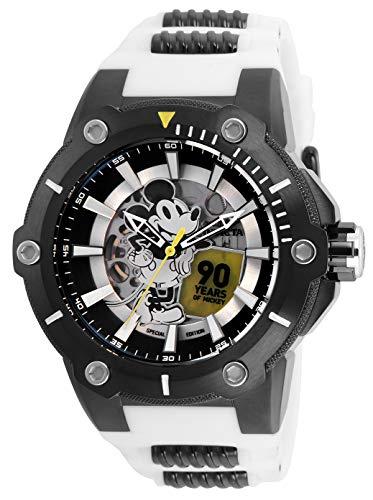 インヴィクタ インビクタ 腕時計 メンズ ディズニー 【送料無料】Invicta Men's Disney Limited Edition Stainless Steel Automatic-self-Wind Watch with Silicone Strap, White, 30 (Model: 28361)インヴィクタ インビクタ 腕時計 メンズ ディズニー
