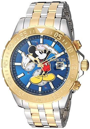 インヴィクタ インビクタ 腕時計 メンズ ディズニー Invicta Men's Disney Limited Edition Quartz Watch with Stainless-Steel Strap, Two Tone, 22 (Model: 27375)インヴィクタ インビクタ 腕時計 メンズ ディズニー