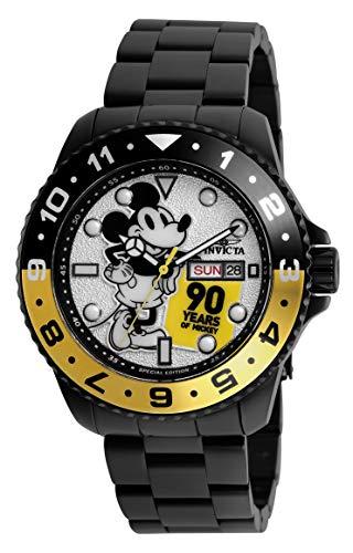 インヴィクタ インビクタ 腕時計 メンズ ディズニー Invicta Men's Disney Limited Edition Quartz Watch with Stainless Steel Strap, Black, 22 (Model: 28360)インヴィクタ インビクタ 腕時計 メンズ ディズニー