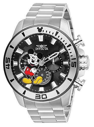 インヴィクタ インビクタ 腕時計 メンズ ディズニー Invicta Men's Disney Limited Edition Quartz Watch with Stainless-Steel Strap, Silver, 24 (Model: 27361)インヴィクタ インビクタ 腕時計 メンズ ディズニー