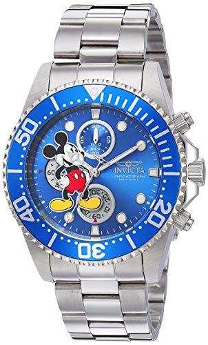 インヴィクタ インビクタ 腕時計 メンズ ディズニー Invicta Men's Disney Limited Edition Quartz Watch with Stainless Steel Strap, Silver, 21.5 (Model: 27387)インヴィクタ インビクタ 腕時計 メンズ ディズニー