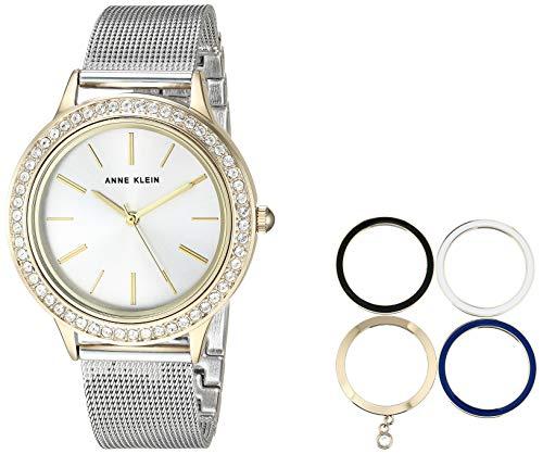 アンクライン 腕時計 レディース Anne Klein Women's AK/3167TTST Two-Tone Bracelet Watch and Interchangeable Bezel Setアンクライン 腕時計 レディース
