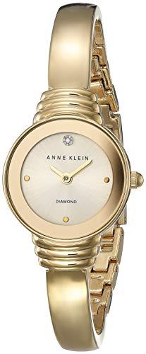 アンクライン 腕時計 レディース 【送料無料】Anne Klein Gold-Tone Ladies Watch AK-2558CHGBアンクライン 腕時計 レディース