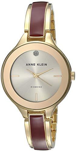 アンクライン 腕時計 レディース 【送料無料】Anne Klein Classic Silver Dial Stainless Steel Ladies Watch AK2702BYGBアンクライン 腕時計 レディース