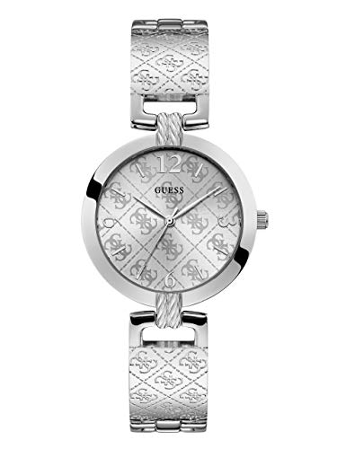 ゲス GUESS 腕時計 レディース GUESS Women's Japanese Quartz Watch with Stainless-Steel Strap, Silver, 16 (Model: U1228L1)ゲス GUESS 腕時計 レディース