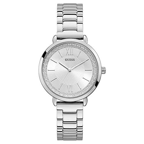 ゲス GUESS 腕時計 レディース Guess Ladies posh Womens Analog Quartz Watch with Stainless Steel Bracelet W1231L1ゲス GUESS 腕時計 レディース
