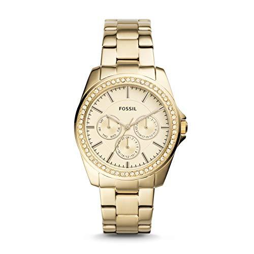 フォッシル 腕時計 レディース Fossil Janice Multifunction Gold-Tone Stainless Steel Watch BQ3317フォッシル 腕時計 レディース