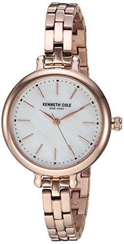 ケネスコール・ニューヨーク Kenneth Cole New York 腕時計 レディース 【送料無料】Kenneth Cole New York Women's Analog-Quartz Watch with Stainless-Steel Strap, Rose Gold, 8 (Model:ケネスコール・ニューヨーク Kenneth Cole New York 腕時計 レディース