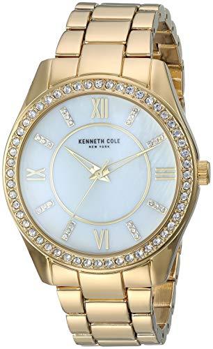 ケネスコール・ニューヨーク Kenneth Cole New York 腕時計 レディース 【送料無料】Kenneth Cole New York Women's Classic Stainless Steel Analog-Quartz Watch with Alloy Strap, Gold, ケネスコール・ニューヨーク Kenneth Cole New York 腕時計 レディース