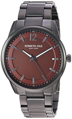 ケネスコール・ニューヨーク Kenneth Cole New York 腕時計 メンズ 【送料無料】Kenneth Cole New York Men's Classic Japanese-Quartz Watch with Stainless-Steel Strap, Grey, 20.8 (Model: Kケネスコール・ニューヨーク Kenneth Cole New York 腕時計 メンズ