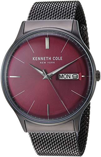 ケネスコール・ニューヨーク Kenneth Cole New York 腕時計 メンズ Kenneth Cole New York Men's CLASSIC Japanese-Quartz Stainless-Steel Strap, Grey, 21.5 Casual Watch (Model: KC50589001)ケネスコール・ニューヨーク Kenneth Cole New York 腕時計 メンズ
