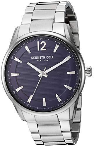 ケネスコール・ニューヨーク Kenneth Cole New York 腕時計 メンズ Kenneth Cole New York Men's Classic Japanese-Quartz Watch with Stainless-Steel Strap, Silver, 20.8 (Model: KC50688001)ケネスコール・ニューヨーク Kenneth Cole New York 腕時計 メンズ