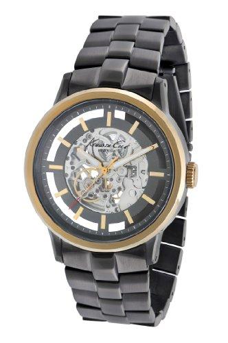 ケネスコール・ニューヨーク Kenneth Cole New York 腕時計 メンズ 【送料無料】Kenneth Cole New York Men's Quartz Stainless Steel Case Stainless Steel Bracelet Black Casual Watch,(Modelケネスコール・ニューヨーク Kenneth Cole New York 腕時計 メンズ