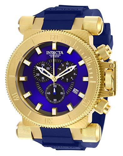 インヴィクタ インビクタ フォース 腕時計 メンズ Invicta Men's Coalition Forces Stainless Steel Quartz Watch with Silicone Strap, Blue, 34.5 (Model: 27845)インヴィクタ インビクタ フォース 腕時計 メンズ