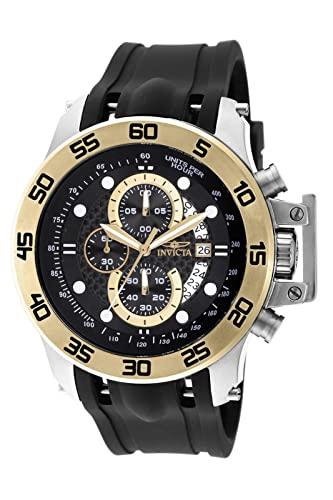 インヴィクタ インビクタ フォース 腕時計 メンズ 【送料無料】Invicta 19253 Men's I-Force Black Rubber Strap Black Dial Multifunction Chrono Watchインヴィクタ インビクタ フォース 腕時計 メンズ