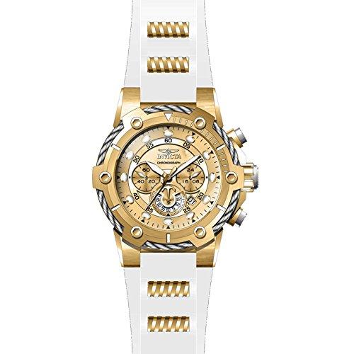 腕時計 インヴィクタ インビクタ ボルト メンズ 【送料無料】Invicta Bolt Chronograph Gold Dial Men's Watch 26814腕時計 インヴィクタ インビクタ ボルト メンズ