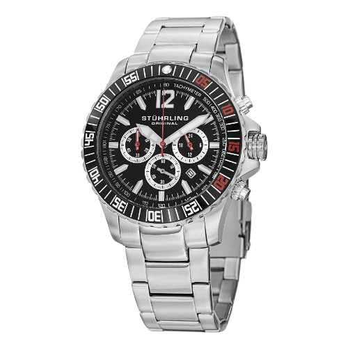 ストゥーリングオリジナル 腕時計 メンズ 【送料無料】Stuhrling Original Men's 868.01 Torricelli Date Silverストゥーリングオリジナル 腕時計 メンズ