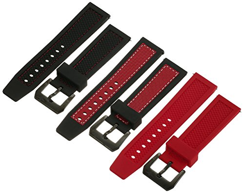 ストゥーリングオリジナル 腕時計 レディース 【送料無料】Stuhrling Original Men's 160FS3.STR56H Apocalypse Trifecta Explosion Red Strap Setストゥーリングオリジナル 腕時計 レディース
