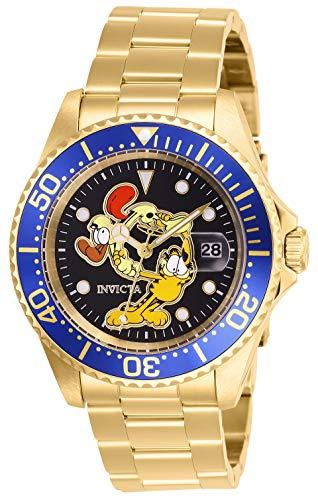 腕時計 インヴィクタ インビクタ メンズ 【送料無料】Invicta Men's Character Collection Quartz Watch with Stainless Steel Strap, Gold, 20 (Model: 27424)腕時計 インヴィクタ インビクタ メンズ