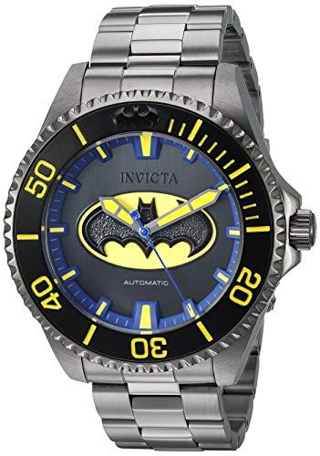 インヴィクタ インビクタ 腕時計 メンズ Invicta Men's DC Comics Automatic-self-Wind Watch with Stainless-Steel Strap, Grey, 20.9 (Model: 26901)インヴィクタ インビクタ 腕時計 メンズ