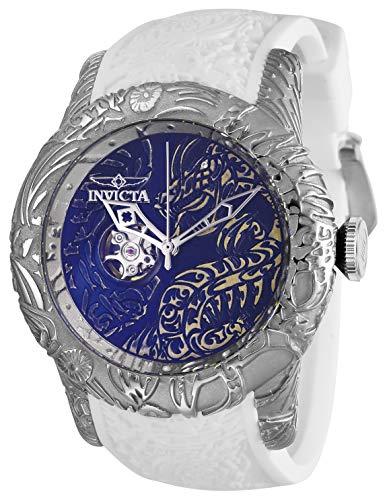 インヴィクタ インビクタ 腕時計 メンズ 【送料無料】Invicta Men's S1 Rally Stainless Steel Automatic-self-Wind Watch with Silicone Strap, White, 26 (Model: 26430)インヴィクタ インビクタ 腕時計 メンズ
