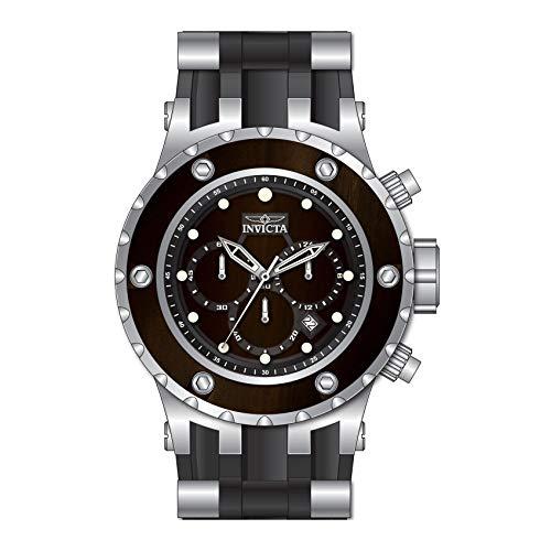 インヴィクタ インビクタ 腕時計 メンズ 【送料無料】INVICTA Specialty Men Quartz 52mm Stainless Steel and Silicone Band, Brown Wood dial Watchインヴィクタ インビクタ 腕時計 メンズ