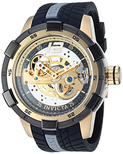 インヴィクタ インビクタ 腕時計 メンズ 【送料無料】Invicta Men's S1 Rally Stainless Steel Automatic-self-Wind Watch with Silicone Strap, Black, 24 (Model: 26620)インヴィクタ インビクタ 腕時計 メンズ