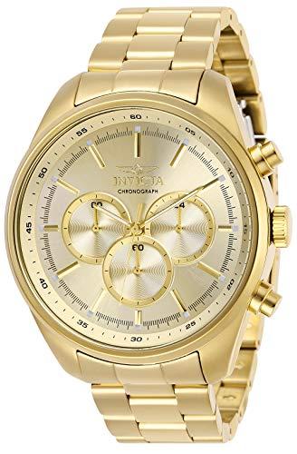 インヴィクタ インビクタ 腕時計 メンズ 【送料無料】Invicta Men's Specialty Quartz Watch with Stainless Steel Strap, Gold, 22 (Model: 29168)インヴィクタ インビクタ 腕時計 メンズ