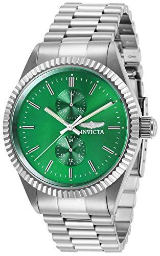 インヴィクタ インビクタ 腕時計 メンズ Invicta Men's Specialty Quartz Watch with Stainless Steel Strap, Silver, 22 (Model: 29419)インヴィクタ インビクタ 腕時計 メンズ