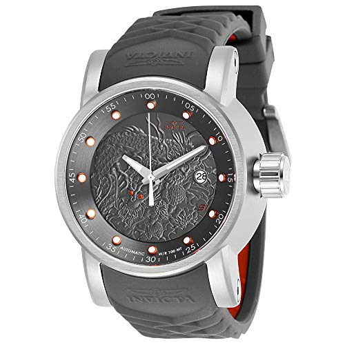 インヴィクタ インビクタ 腕時計 メンズ Invicta Men's S1 Rally Stainless Steel Automatic-self-Wind Watch with Silicone Strap, Grey, 24 (Model: 28172)インヴィクタ インビクタ 腕時計 メンズ