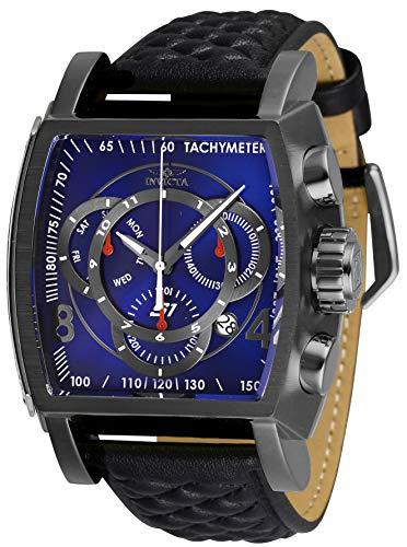 インヴィクタ インビクタ 腕時計 メンズ Invicta Men's S1 Rally Stainless Steel Quartz Watch with Leather Strap, Black, 26 (Model: 27925)インヴィクタ インビクタ 腕時計 メンズ