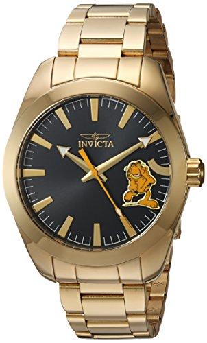 インヴィクタ インビクタ 腕時計 メンズ Invicta Men's Garfield Collection Quartz Watch with Gold-Tone-Stainless-Steel Strap, 20 (Model: 25163)インヴィクタ インビクタ 腕時計 メンズ