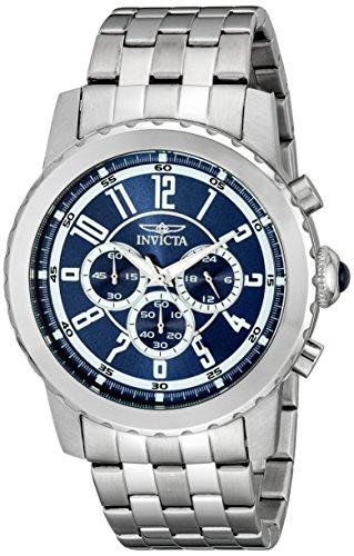 インヴィクタ インビクタ 腕時計 メンズ Invicta Men's 19464 Specialty Analog Display Japanese Quartz Silver Watchインヴィクタ インビクタ 腕時計 メンズ