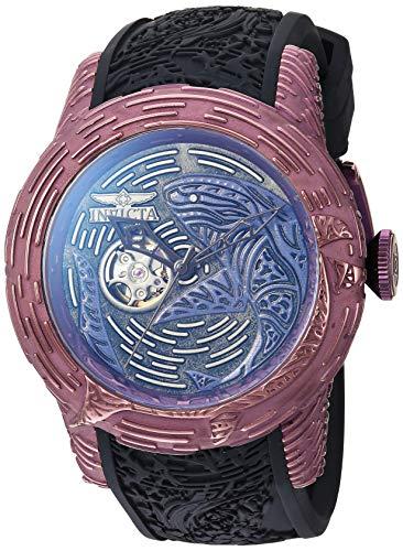 インヴィクタ インビクタ 腕時計 メンズ Invicta Men's S1 Rally Stainless Steel Automatic-self-Wind Watch with Silicone Strap, Black, 26 (Model: 26428)インヴィクタ インビクタ 腕時計 メンズ