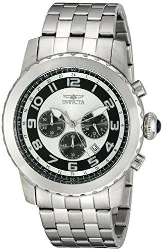 インヴィクタ インビクタ 腕時計 メンズ Invicta Men's 19461 Specialty Analog Display Japanese Quartz Silver Watchインヴィクタ インビクタ 腕時計 メンズ