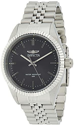 腕時計 インヴィクタ インビクタ メンズ 【送料無料】Invicta Men's Specialty Quartz Watch with Stainless Steel Strap, Silver, 22 (Model: 29372)腕時計 インヴィクタ インビクタ メンズ