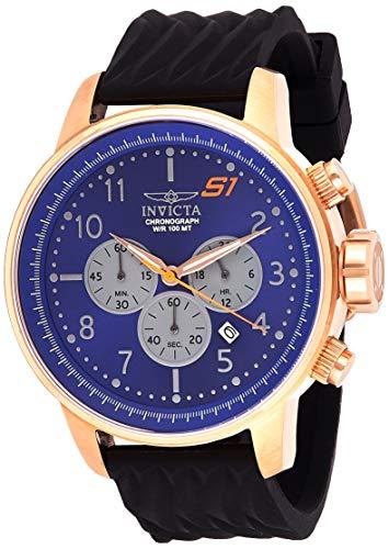 インヴィクタ インビクタ 腕時計 メンズ 【送料無料】Invicta Men's S1 Rally Stainless Steel Quartz Watch with Silicone Strap, Black, 22 (Model: 23817)インヴィクタ インビクタ 腕時計 メンズ