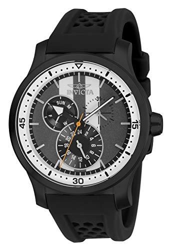 腕時計 インヴィクタ インビクタ メンズ 【送料無料】Invicta Men's S1 Rally Stainless Steel Quartz Watch with Silicone Strap, Black, 22 (Model: 27124)腕時計 インヴィクタ インビクタ メンズ