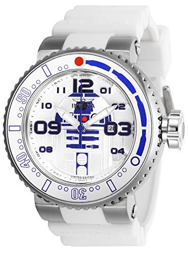 インヴィクタ インビクタ 腕時計 メンズ 【送料無料】Invicta Men's Star Wars Stainless Steel Quartz Watch with Silicone Strap, White, 29.8 (Model: 27672)インヴィクタ インビクタ 腕時計 メンズ